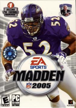 Madden 2005 title