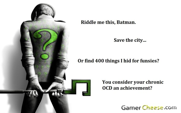 Arkham City The Riddler with watermark