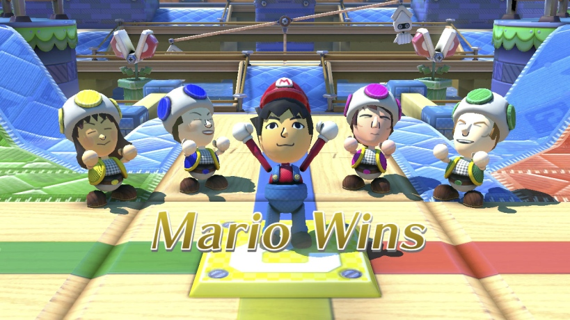 Mario Chase Wins