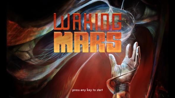 Waking Mars Title