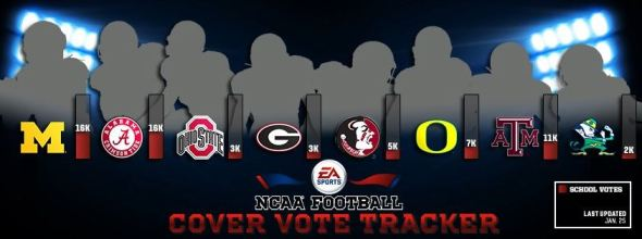 NCAA Football Cover 2014 Final 8