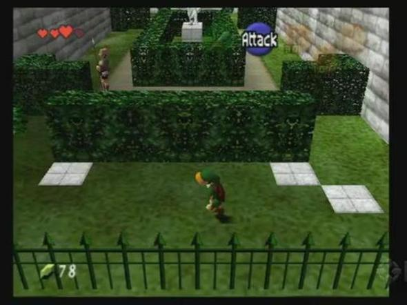Ocarina of Time Sneaking Stinks