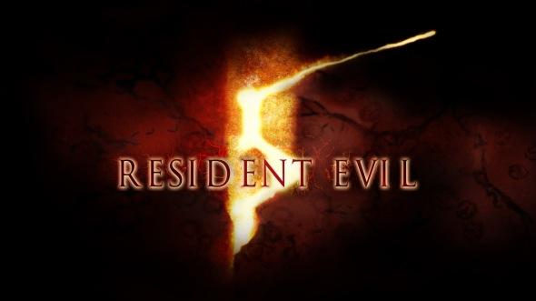 Resident Evil 5 Logo Title