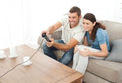 Side Seat Gaming Couples on One Controller