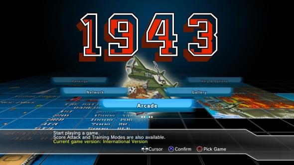 Capcom Arcade Cabinet 1943