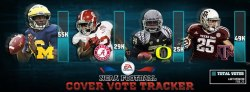 Denard Robinson NCAA 2014 Football Cover Vote